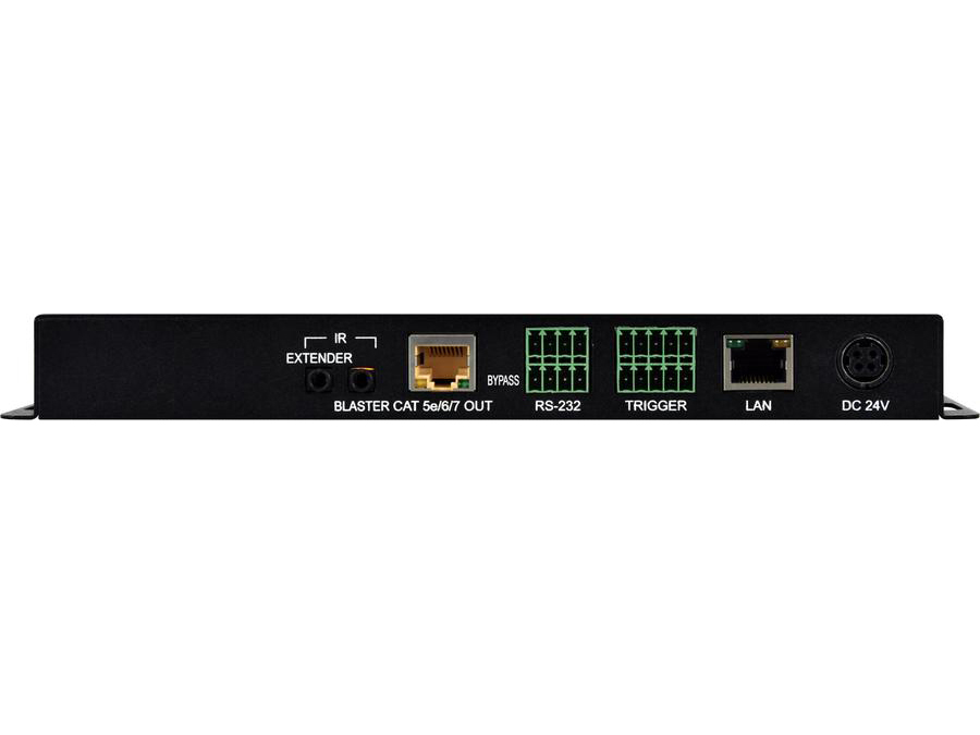 ANI-41STREAM UHD 4x1 Multi-input to HDBaseT and Live Video Streaming Transmitter with Recording by A-NeuVideo