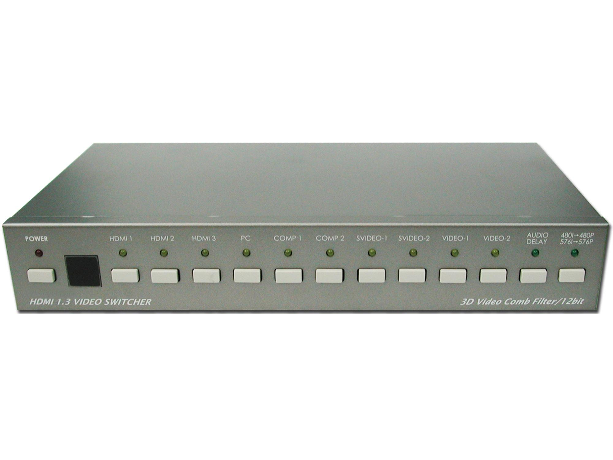 ANI-5300 PC/Video/HD to HDMI V1.3 Switcher by A-NeuVideo