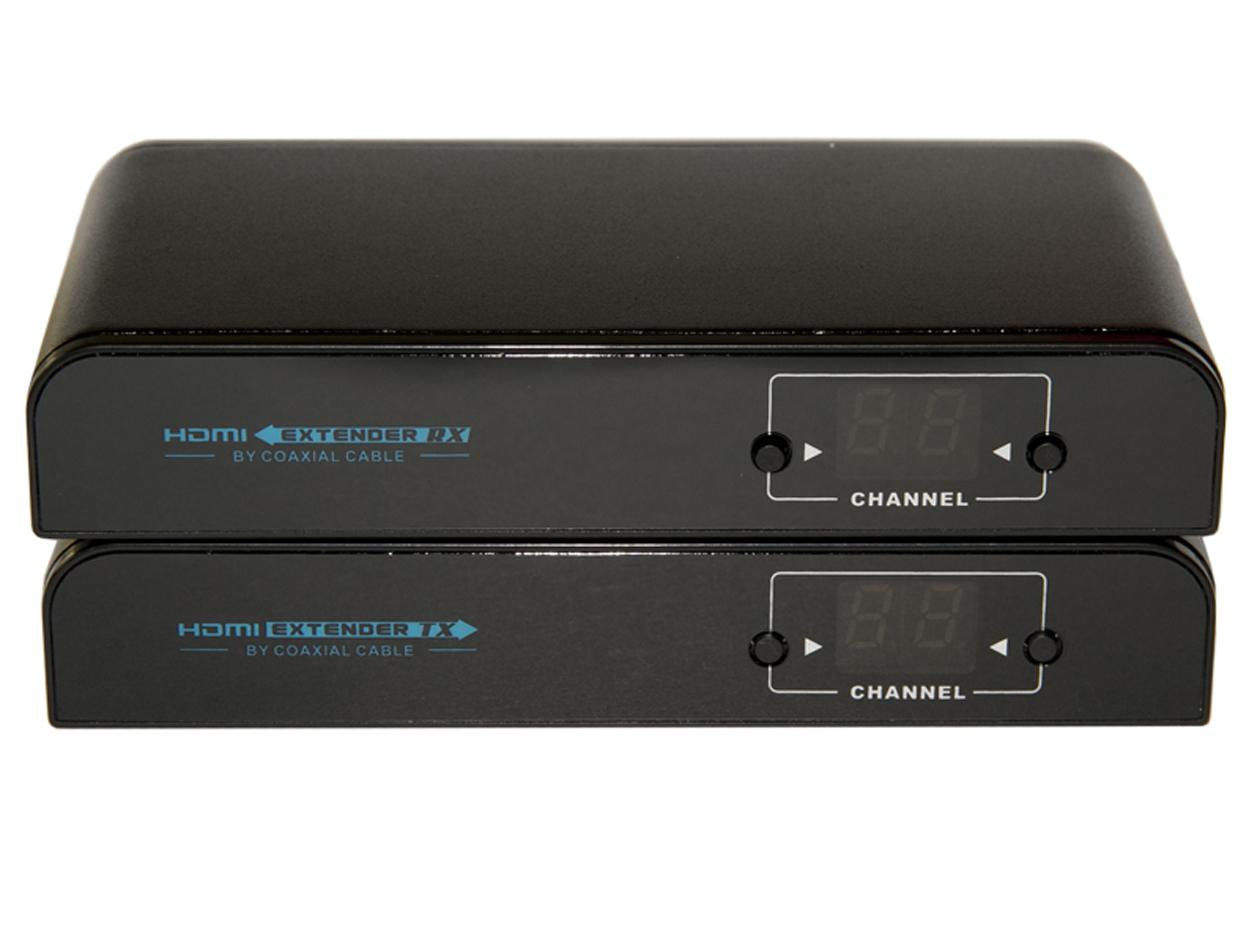 ANI-HDRF HDMI up to 1080p AS RF over Single Coax Extender (Transmitter/Receiver) Kit by A-NeuVideo