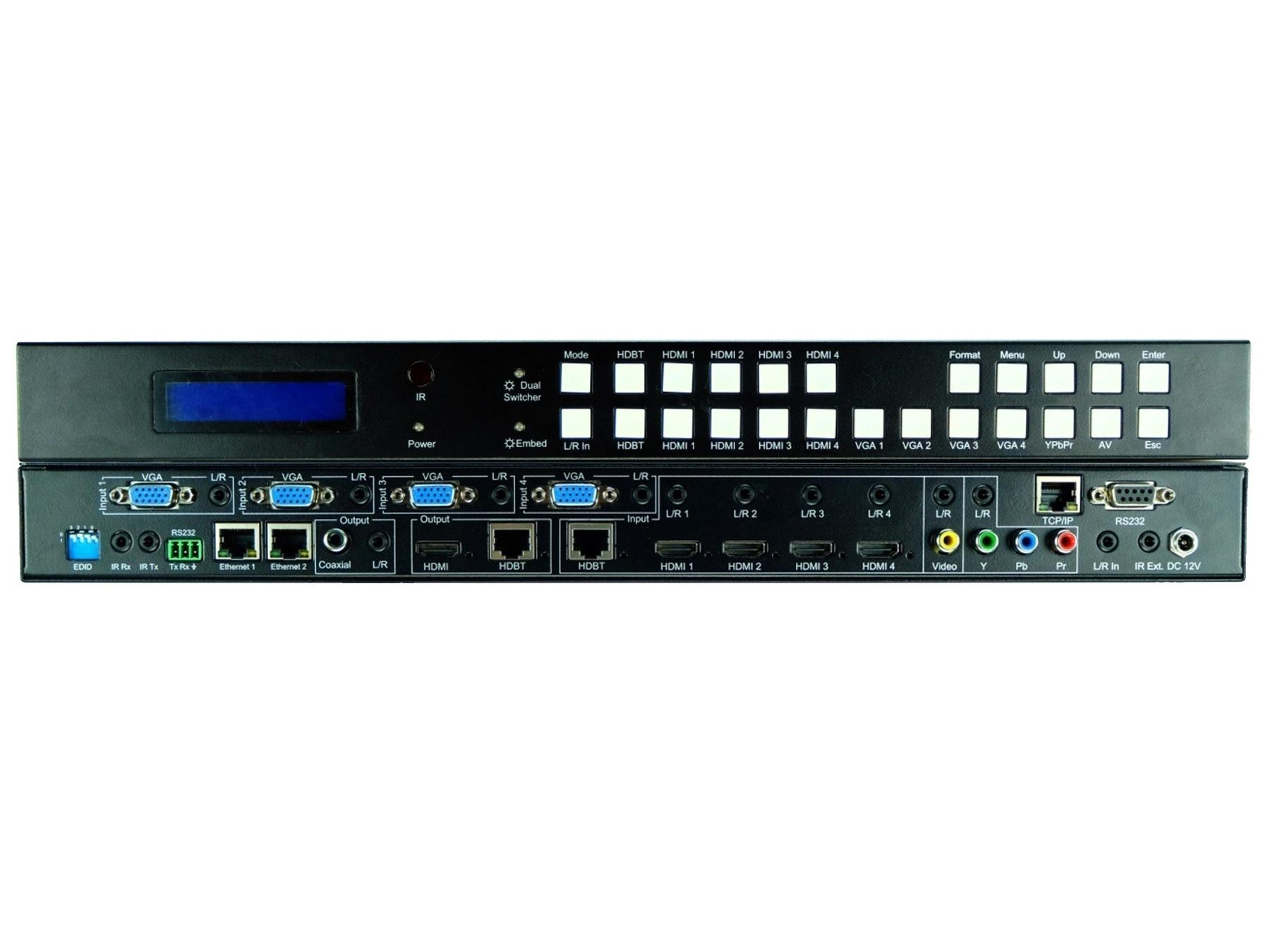 ANI-11x2MFS 11x2 Multi-Format Video Scaler Switch w Audio / Tx/Rx by A-NeuVideo