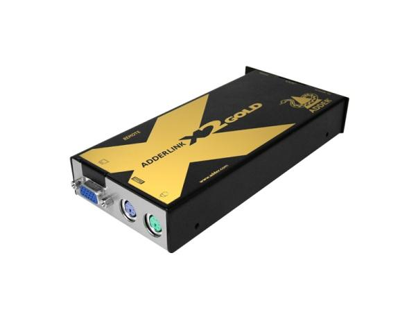X2-GOLD/R AdderLink PS/2 KVMA/RS232 Extender (Receiver) by Adder