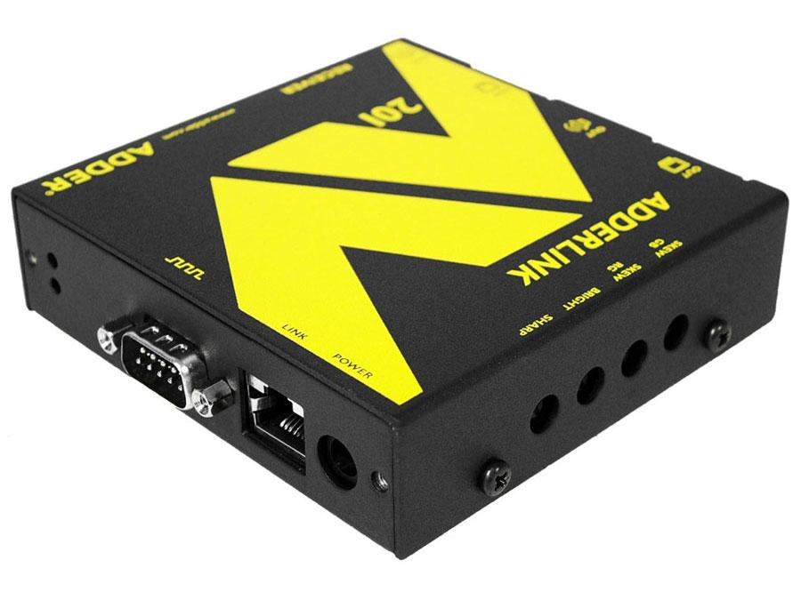 ALAV201R VGA Extender Receiver with Serial and DeSkew over CAT5 up to 1000ft by Adder