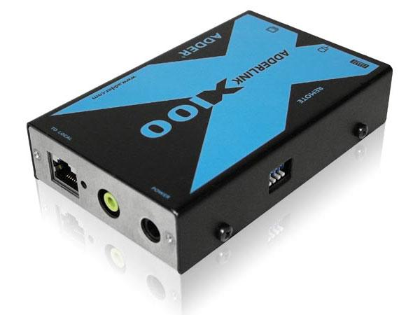 X100A/R PS/2 KVM Extender Receiver with Audio by Adder