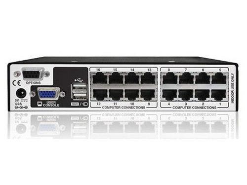 AVX5016IPC-US CATxIP 5000 16 Port (8 USB Dongles) KVM Switch by Adder