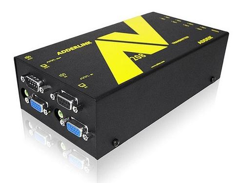 ALAV208T-US 8-Way Full HD VGA Digital Signage Extender (Transmitter) with RS232/Audio by Adder