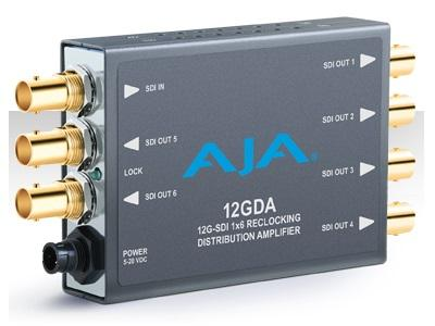 12GDA 12G/6G/3G/HD/SD-SDI Distribution Amplifier by AJA