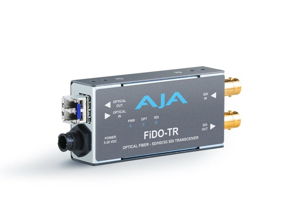 FiDO-TR SDI/LC Fiber Transceiver Extender up to 10km by AJA