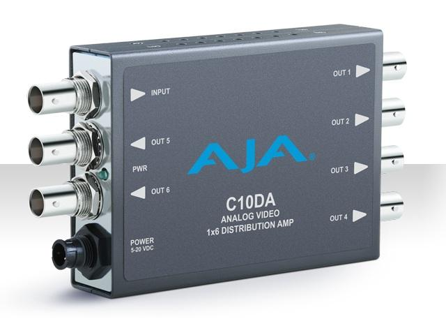 C10DA 1x6 Analog Video Distribution Amplifier by AJA