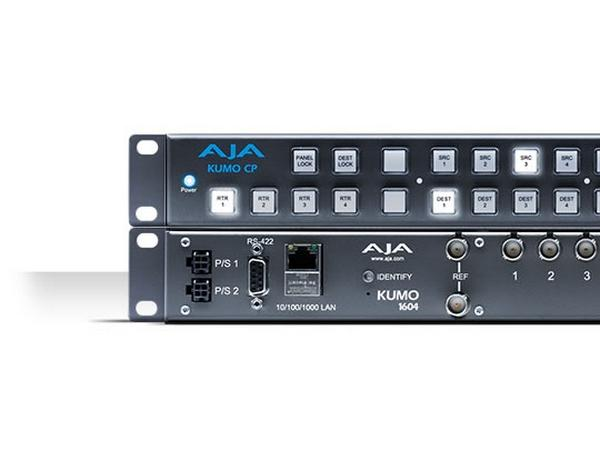 KUMO 1604 16x04 Compact 3G-SDI/HD-SDI/SDI Router by AJA