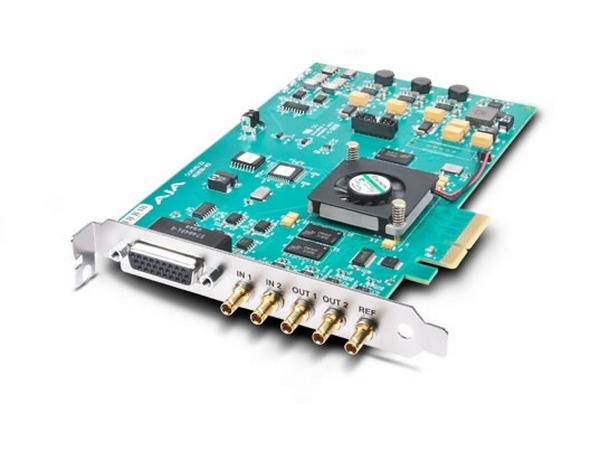 Corvid 22 4-lane PCIe Card with 2-in/2-out SD/HD/3G SDI by AJA