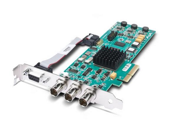 Corvid 3G PCIe 4x Card for 8/10-bit Uncompressed Digital 3G/HD and SD I/O by AJA