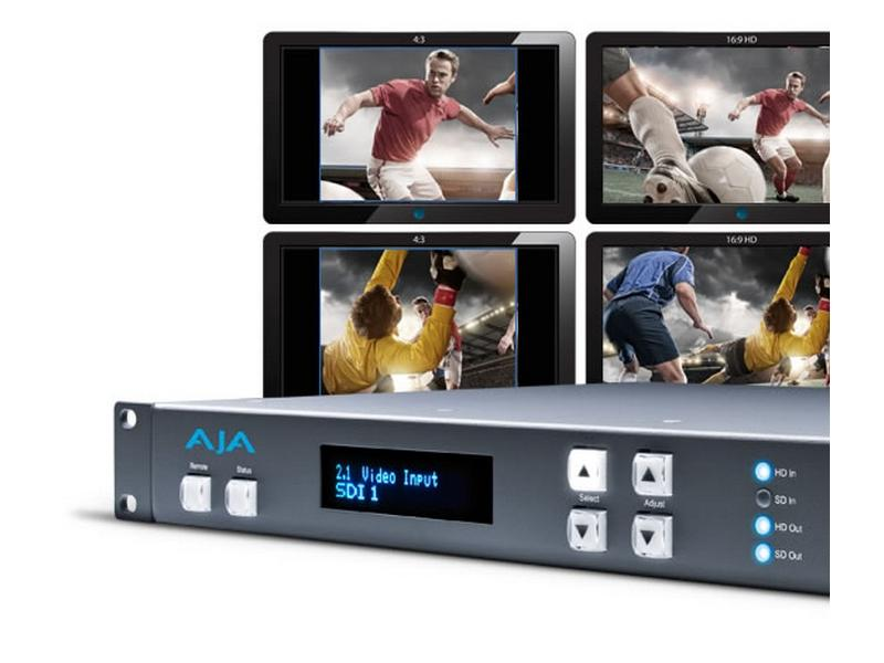 FS1 SDI/Component/Composite/S-Video Universal Frame Synchronizer/Converter by AJA