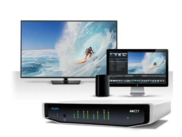 Io 4K 4K and HD I/O for Thunderbolt 2 by AJA