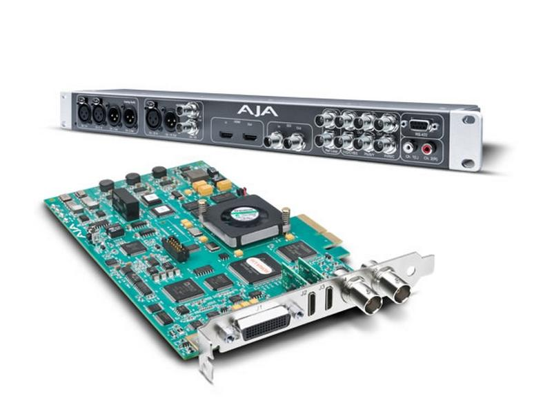 KONA LHi Multi-format analog and digital Capture  I/O Card by AJA