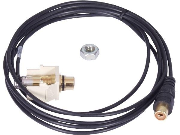 CM11372 Rca Black F/F 6Ft Right Angle by Altinex