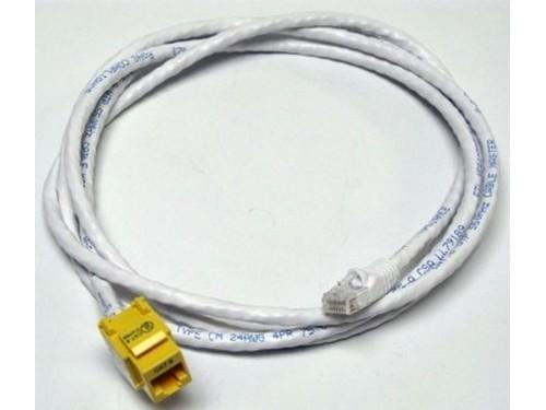 CM11353 6ft CAT6/RJ-45 F/M SNAP IN ASSEMBLY Cable (Yellow) by Altinex