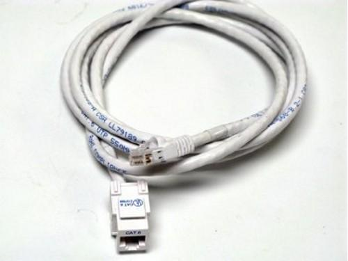 CM11358 6ft CAT6/RJ-45 F/M SNAP IN ASSEMBLY Cable (White) by Altinex