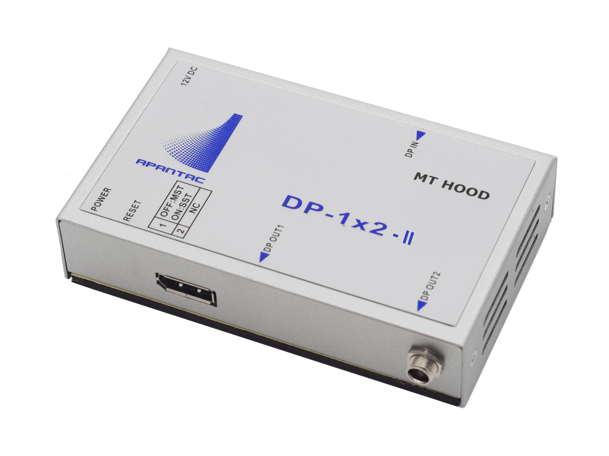 DP-1x2-II 1x2 DisplayPort 1.2 Distribution Amplifier/Splitter by Apantac