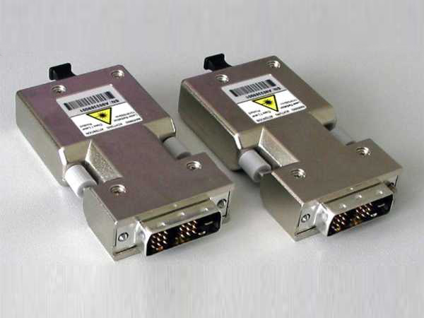 DVI-xx-LC-DL-II Dual Link DVI-D Fiber Optic Extender (Transmitter/Receiver) with two LC Type (Multi-mode) fibers by Apantac