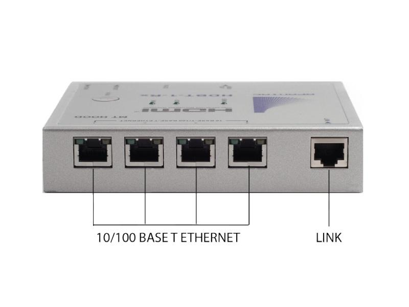 HDBT-1-Rx HDBaseT HDMI Extender (Receiver) with IR/RS232/ Ethernet/POE up to 330 feet by Apantac
