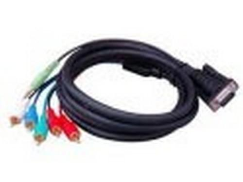 HDTV-C-M VGA to Component Video Monitor Cable by Apantac