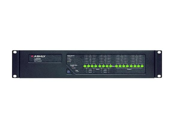 ne8800d Protea DSP Audio System Processor 8x8 I/O w 8-Ch AES3 Inputs by Ashly