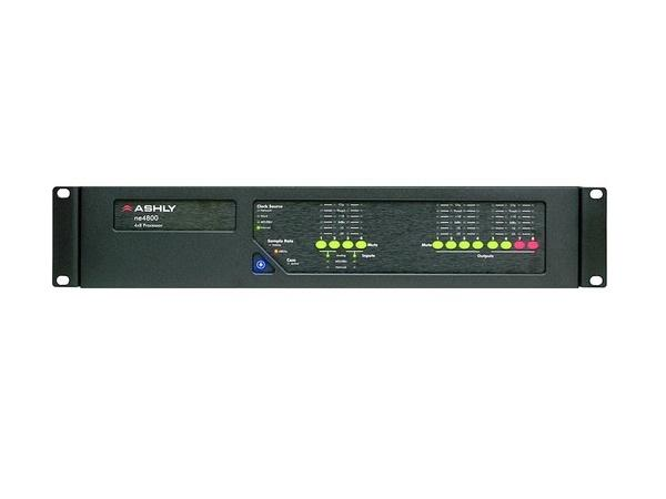 ne4800t 4x8 Protea DSP Audio System Processor with Dante Option card by Ashly