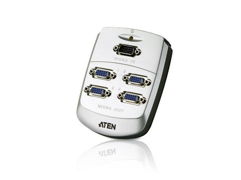 VS84 4-Port VGA Video Splitter/250MHz by Aten