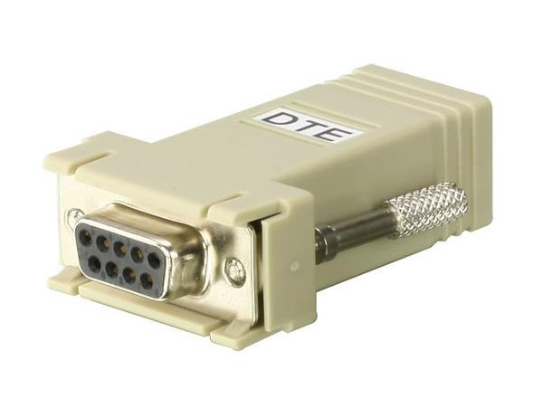 SA0141 RJ-45 (Female) to DB9 (Female) DTE to DTE Interface Adapter by Aten