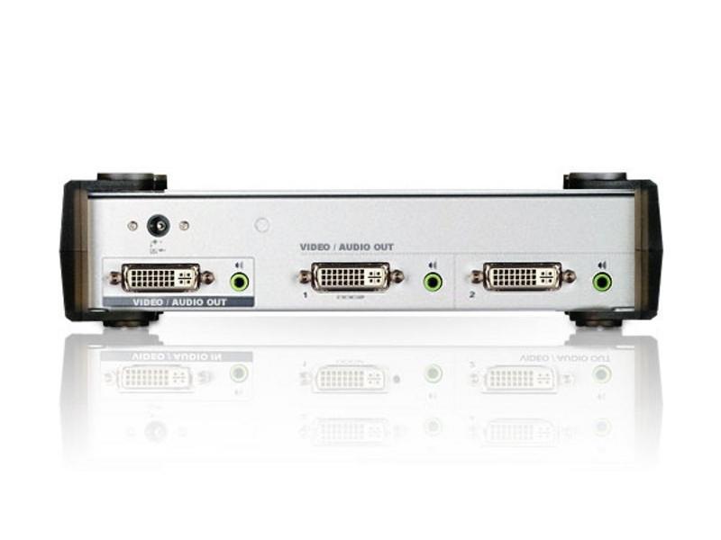 VS162 2 Port DVI Video/Audio Splitter by Aten