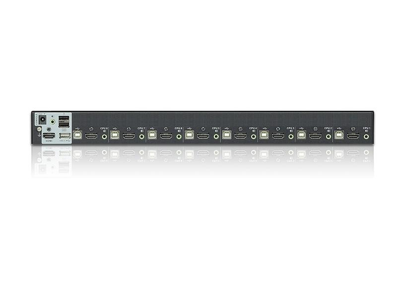 CS1798 8-port HDMI KVM Switcher by Aten