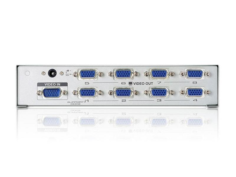 VS98A 300MHz 8 Port VGA Video Splitter by Aten