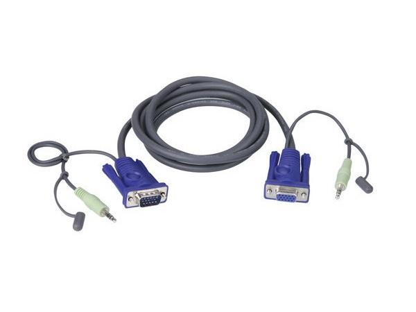 2L2402A VGA / Audio Cable (6 ft) by Aten