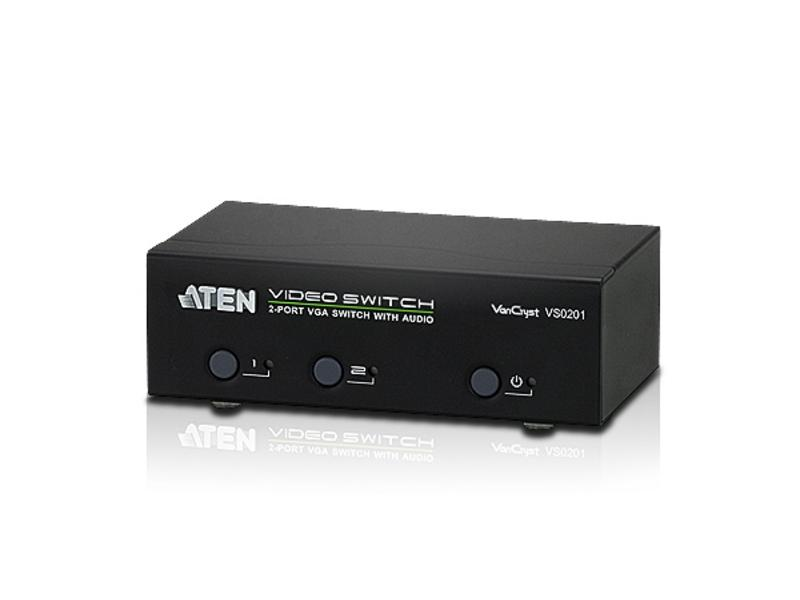 VS0201 2-Port VGA/Audio Switch by Aten