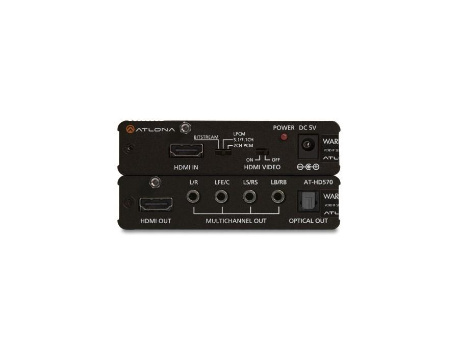AT-HD570 HDMI 1.3 Audio De-Embedder by Atlona