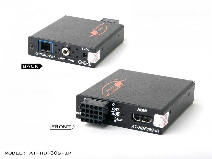 AT-HDF30S-IR-b HDMI/RS232/IR/Audio Extender (Transmitter) module/Multi Mode Fiber by Atlona
