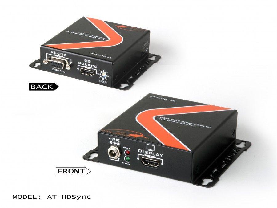 AT-HDSYNC-b HDMI Recorder/Writer/Simulator w RS232 control by Atlona