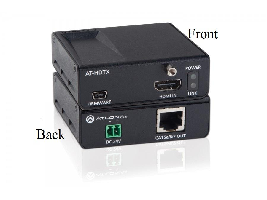 AT-HDTX-B HDMI HDBaseT-Lite Transmitter over Single CAT5e/6/7 by Atlona