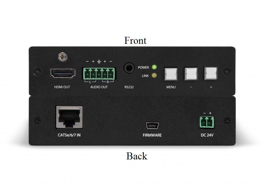 AT-HDVS-RX HDMI HDBaseT Extender (Receiver) Scaler Box by Atlona