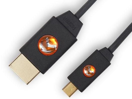 AT-LCM-6 LinkConnect High Speed Micro HDMI to HDMI Cable w/Ethernet 6ft by Atlona