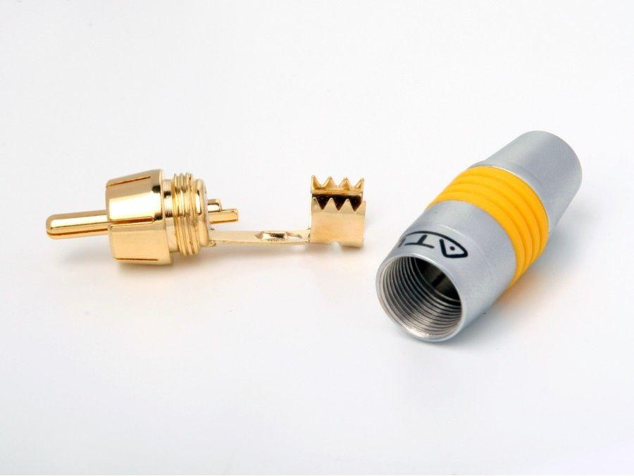 AT12004Y RCA Connector / Yellow by Atlona