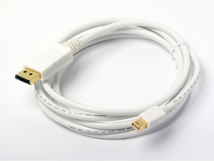 AT13021-2 6 foot/2 meter Male DisplayPort to Male Mini DisplayPort by Atlona