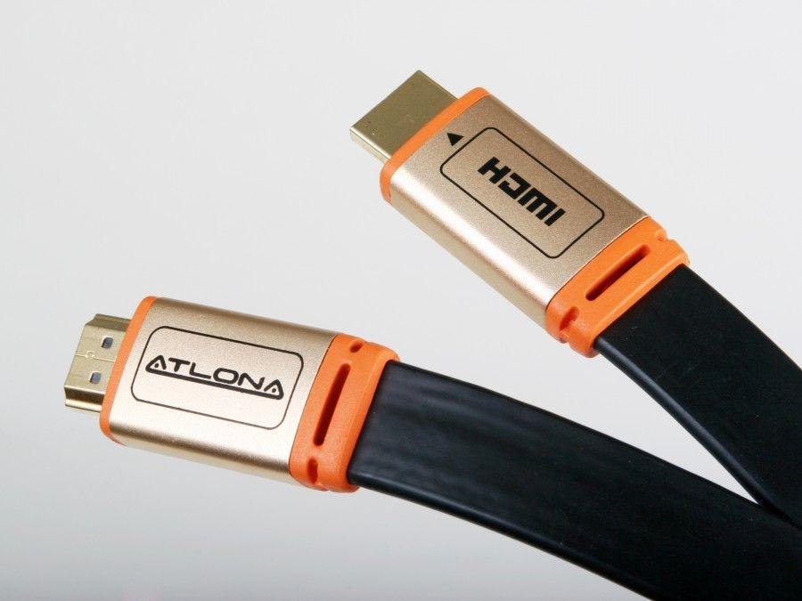 ATF14031B-1 1m/3ft Flat HDMI Cable/HDMI 1.3 Rated/Black by Atlona