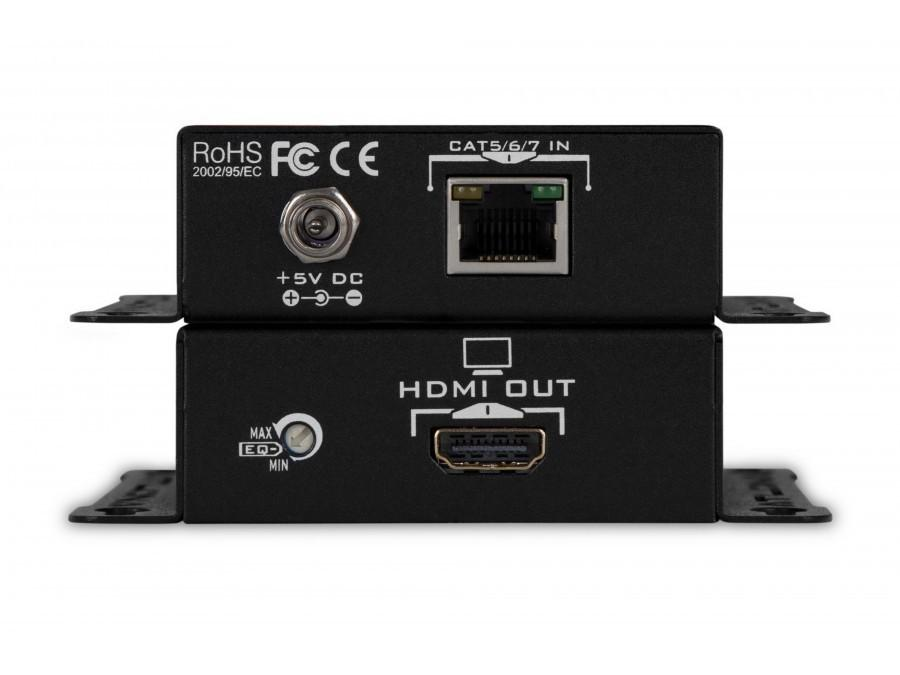 AT-HD4-SI40SR High Speed HDMI Extender (Transmitter/Receiver) Kit Over Single Cat 5/6/7 with Full 3D Support by Atlona