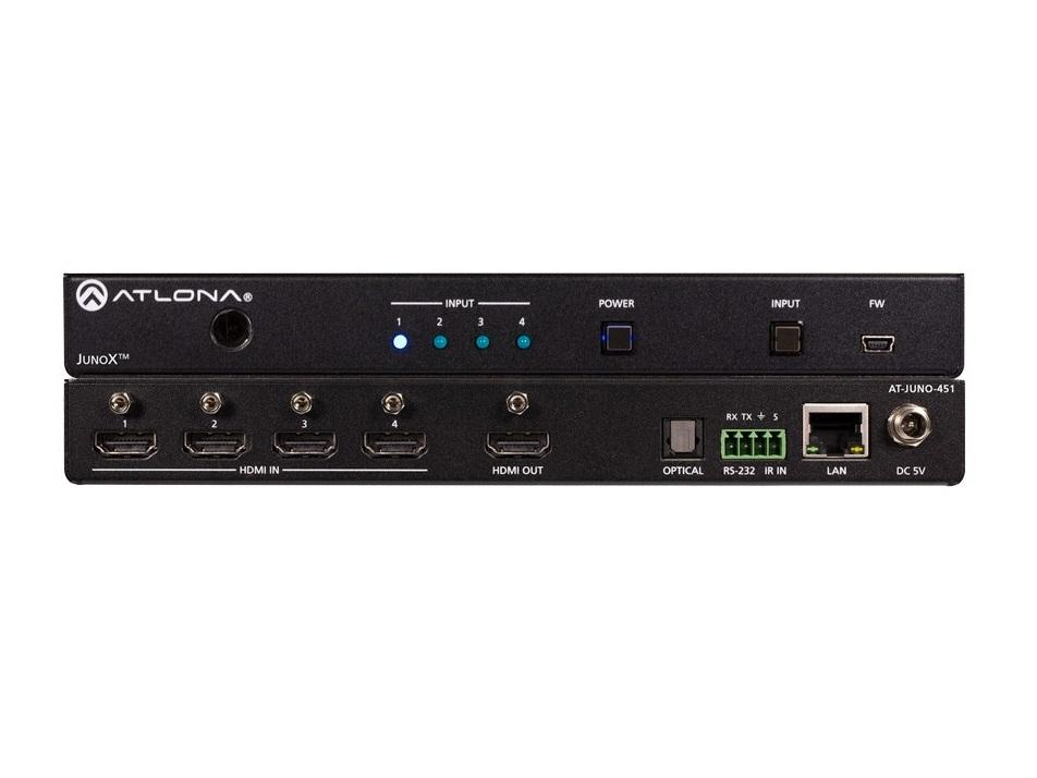 AT-JUNO-451 HDR 4-Input 4k HDMI Auto Switch by Atlona