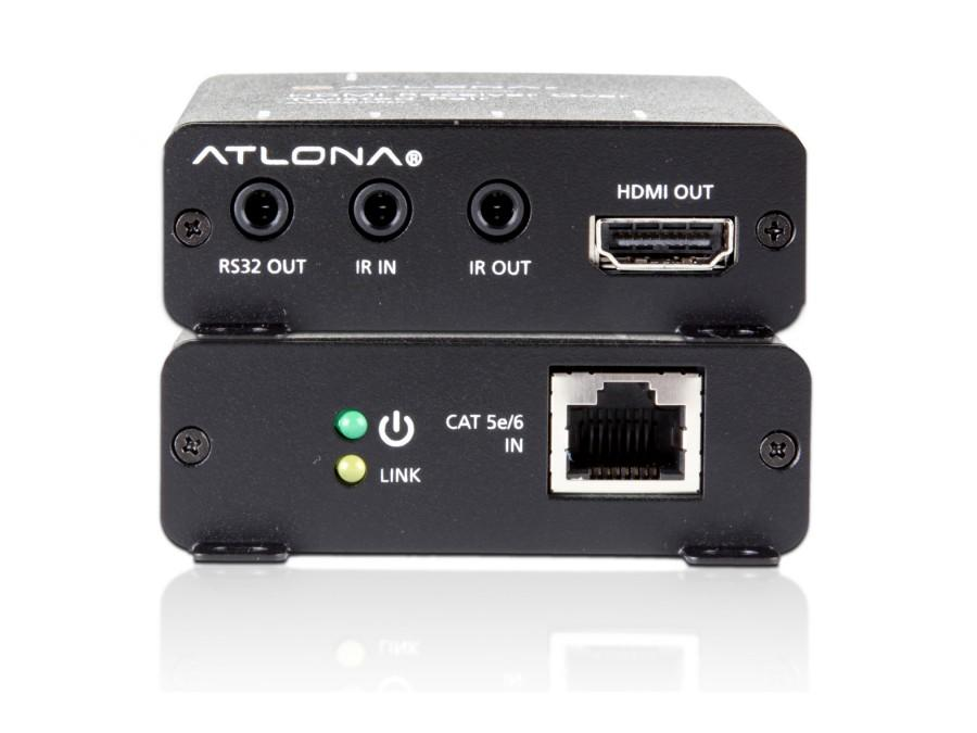 AT-PRO3HDREC-b HDMI Extender/Receiver over Single CAT5e/6/7 by Atlona