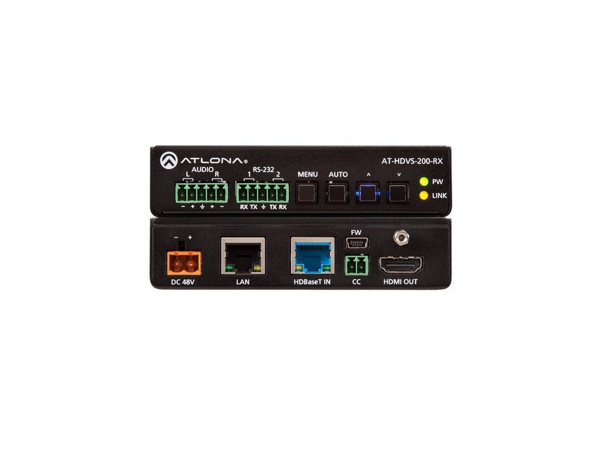 AT-HDVS-200-RX HDBaseT/NET Extender (Receiver) with HDMI/Audio Outputs by Atlona