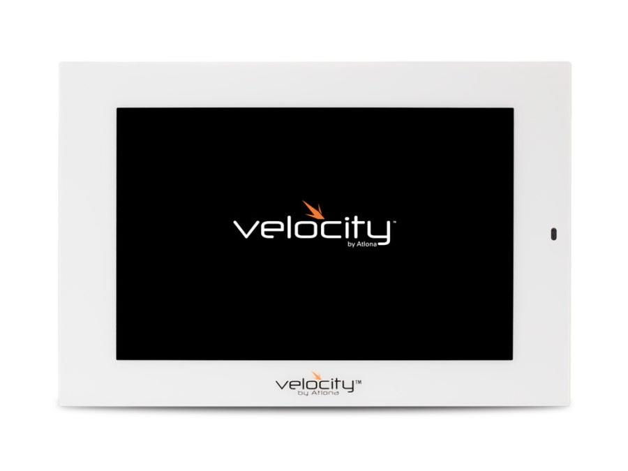 AT-VTP-800-WH-b 8 inch 1280x800 Touch Panel for Velocity Control System - White by Atlona