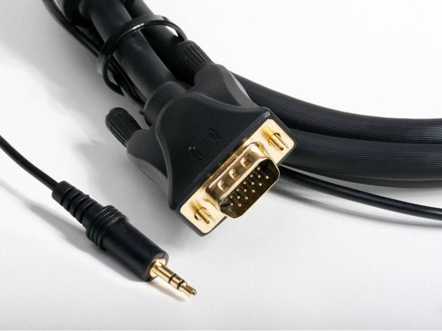AT18014L-23 75FT (23M) VGA with Stereo Audio Cable by Atlona