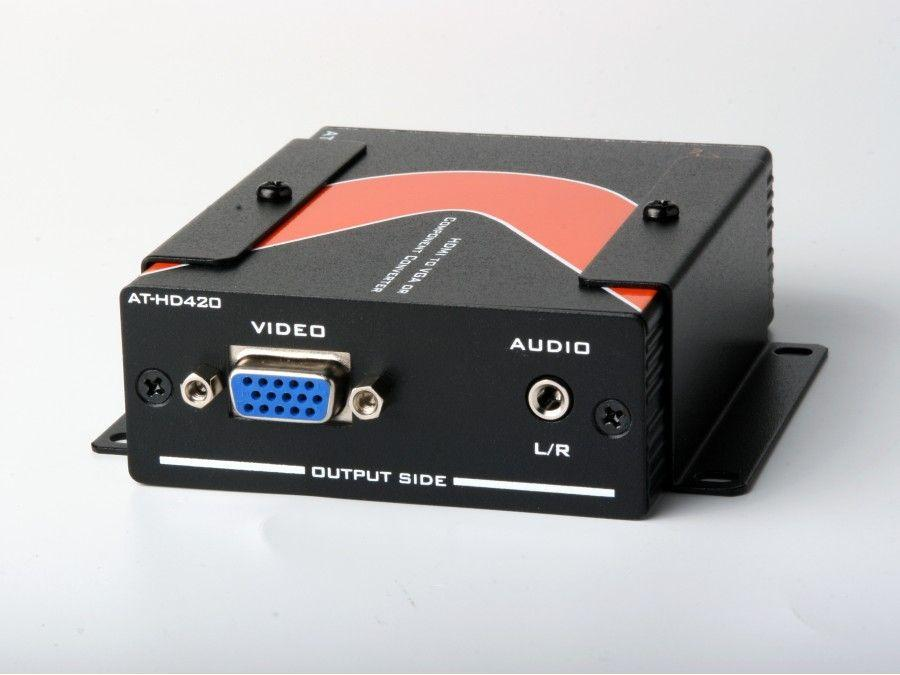 AT-HD420-b HDMI to VGA/Component   Stereo Audio Format Converter by Atlona